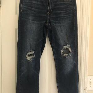 American Eagle Hi Rise Mom Jeans